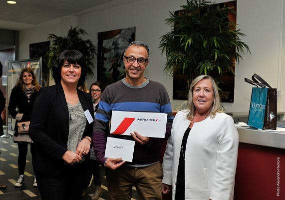 Jawad Nacef (Thomas Cook Clichy) a remporté 2 billets d'avion et 6 nuits d'hébergement au Canada - Photo : DR