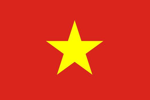 Drapeau du Vietnam - DR : Wikipedia