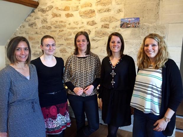 Dimensionné comme un département« sur mesure », l'équipe d'Audrey Girod (responsable du service) est composée à ce jour de 4 techniciennes (Carole, Sandra, Juliette, Camille).
