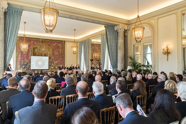La table-ronde de CWT s'est tenue mardi 5 avril 2016 à Paris - Photo : CWT
