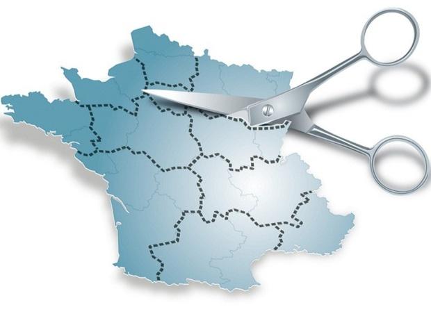 Avec la Loi NOTRe, des régions ont été regroupées et certains nouveaux ensembles ont changé de nom - DR : © Graphies.thèque - Fotolia.com