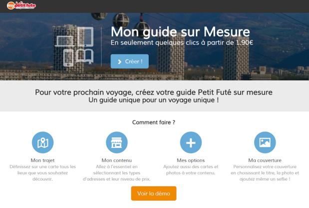 """Petit futé lance le guide de voyage personnalisé """"Mypetitfute.com"""" (c) capture d'écran mypetitfute.com"""