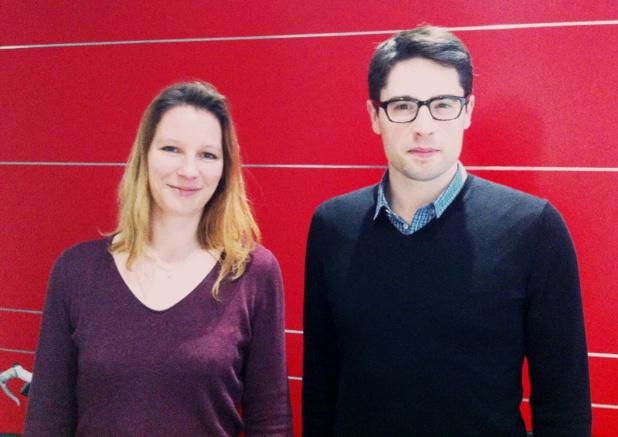 Silja Druo, responsable des ressources humaines et Jean-Daniel Guyot, fondateur de Captain Train. DR-LAC