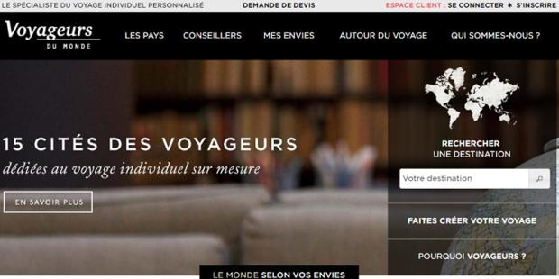 Voyageurs du Monde a vu son bénéfice net progresser en 2015 - Capture d'écran