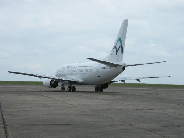 Air Méditerranée a été liquidée, deux Boeing seront mis en vente aux enchères sur l'aéroport de Tarbes le 26 avril 2016 - DR