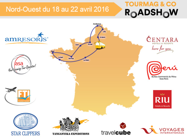 Le TourMaG&Co Roadshow part en tournée dès ce lundi dans 9 villes du Nord et du Nord-Ouest de la France - DR