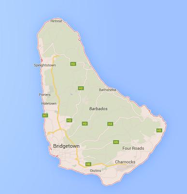 Les agents de voygaes ont visité des hôtels et goûté les plats locaux de La Barbade - DR : Google Maps