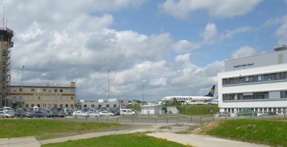 L'aéroport de Francfort-Hahn tombera-t-il dans le giron d'Amazon - DR : Google Street View