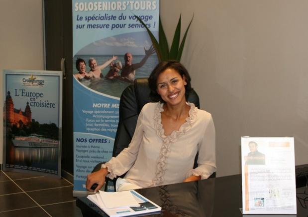 Zohra Bozec s'est lancée sur le créneau des voyages pour les seniors, en créant une agence de voyages et une production dédiées à cette clientèle - DR : SoloSeniors'Tours