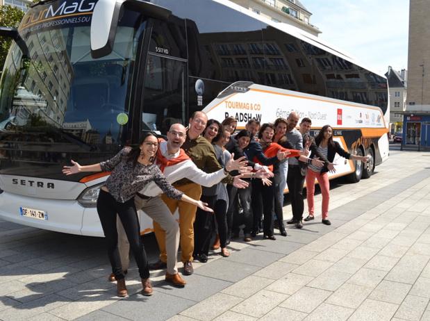 Les partenaires du TourMaG & Co Roadshow reprennent la route - Photo : M.C.