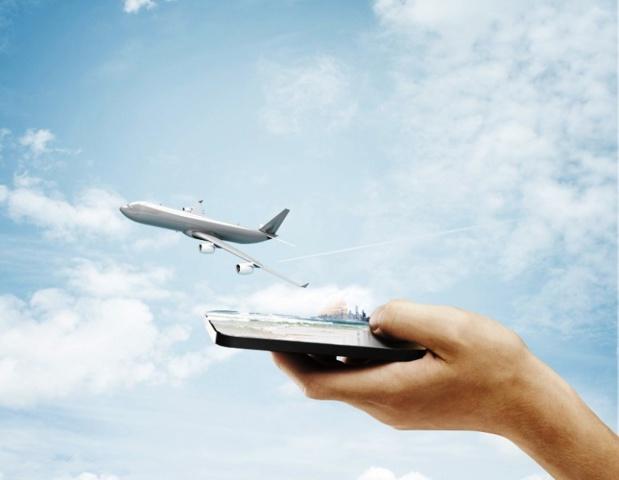 Le wifi à bord, un service souvent payant et pas encore opérationnel sur toutes les compagnies - DR : peshkova, Fotolia.com