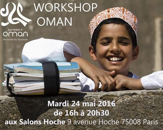 Oman : workshop le 24 mai à Paris