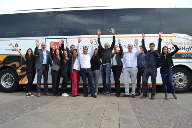 Les partenaires du TourMaG & Co Roadshow reprennent la route - Photo : M.C.