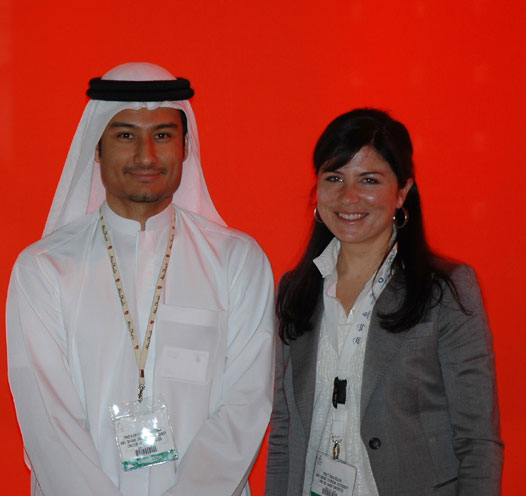 Vanessa Demery ADTA Europe Francophone (Interface Tourism), Nabeel Mahmoud Al Zarouni et Tanja Blaha en charge de la promotion internationale à l'ADTA