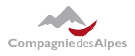 Compagnie des Alpes : CA en hausse de 5,4 % au 1er semestre 2015/2016