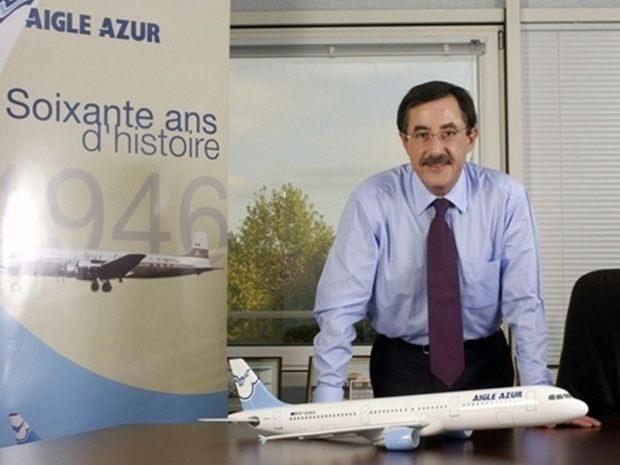 Arezki Idjerouidene PDG d'Aigle Azur - DR