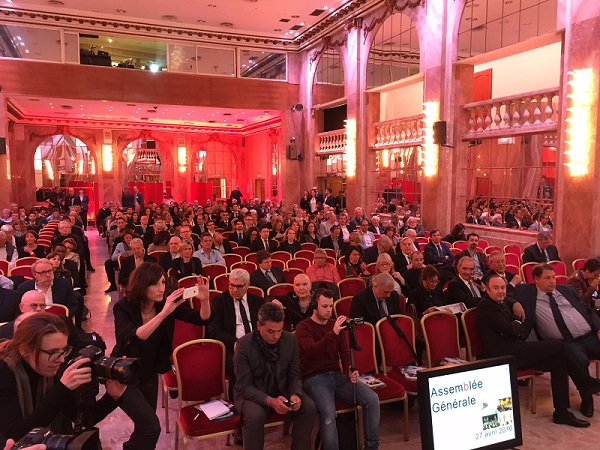 L'Assemblée générale de l'APST se déroule actuellement aux Salons Hoche, à Paris - Photo : J.D.L.