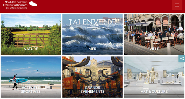 """Mobile app: Northern France Experience, the """"Nooord"""" in full connection"""