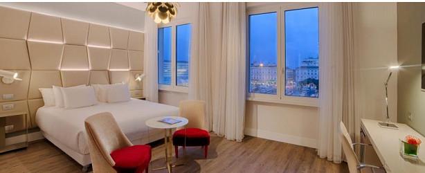L'hôtel 5 étoiles NH Collection Palazzo Cinquecento propose 177 chambres dans le centre de Rome - Photo : NH Hotel Group