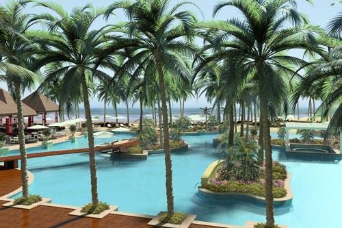 Une nouvelle piscine de 2000 M2