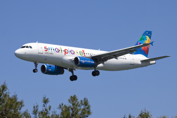 Small Planet Airlines se pose à nouveau en France, à l'aéroport de Vatry et de Paris CDG - DR : Small Planet Airlines