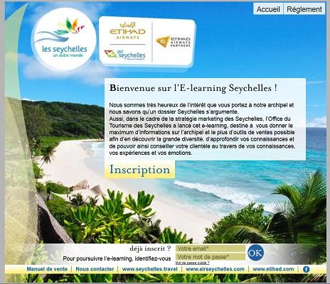 L'e-learning des Seychelles revient ! - Capture d'écran