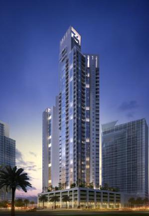 Le Mövenpick Hotel Apartments Al Burj Business Bay comptera 299 chambres sur 40 étages - DR : Mövenpick Hotels & Resorts