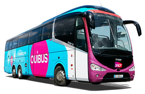 Ouibus desservira 41 lignes d'autocars en France pendant l'été 2016 - Photo : OuiBus
