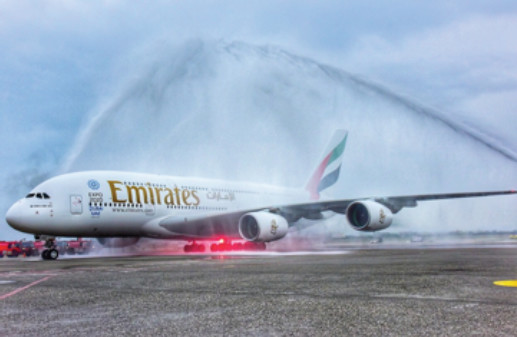 Prague et Taipei sont désormais desservies en A380 par Emirates - Photo : Emirates