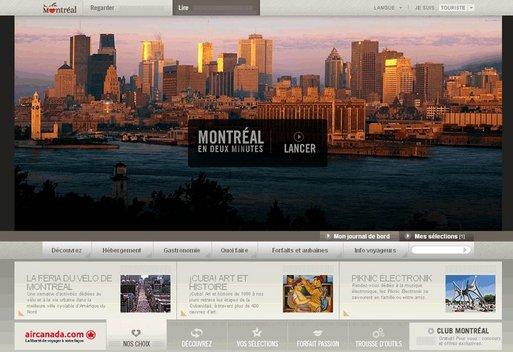 Tourisme Montréal lance son nouveau site Internet
