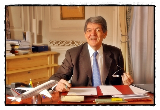 Claude Terrazzoni, réélu président de l'Union des Aéroports Français