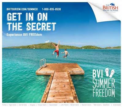 Les prestataires qui participent à l'opération BVI Summer FREEdom sont recensés dans une brochure dédiée - DR : Office de Tourisme des Îles Vierges Britanniques