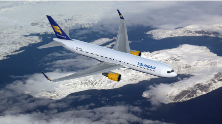 Icenlandair a transporté 576 000 passagers au premier trimestre 2016 - Photo : Icelandair