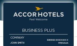 La carte de fidélité d'AccorHotels pour les voyageurs d'affaires devient Business Plus - DR : Accor Hotels