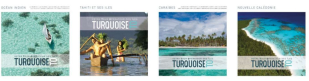Les 4 brochures 2016 de Turquoise TO - DR : Turquoise TO