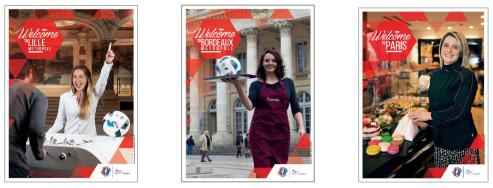 UEFA Euro 2016 : la France souhaite la bienvenue aux visiteurs étrangers