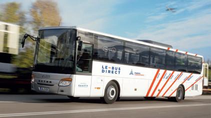 Keolis se fixe comme objectif de transporter 2,5 millions de passagers en 2018, soit + 20% par rapport à 2015. - Photo Keolis
