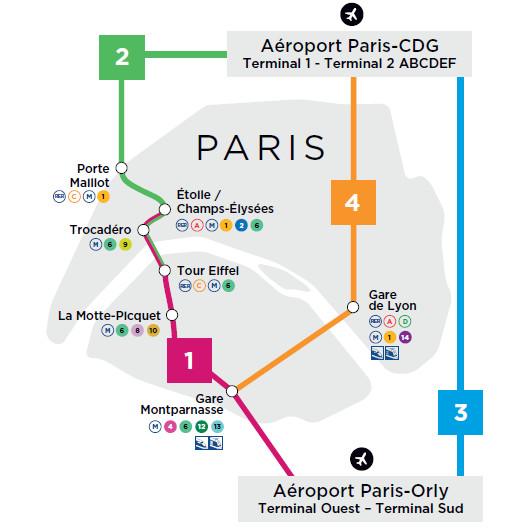 4 lignes sont programmées avec de nouveaux arrêts dans la Capitale - DR