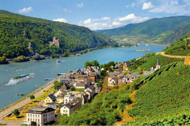 VVF Villages lance une croisière sur le Rhin avec CroisiEurope