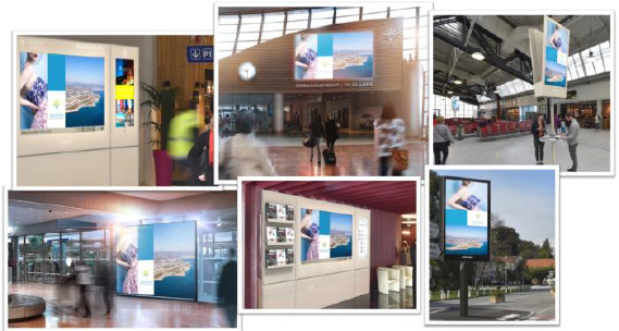 JCDecaux gérera la régie publicitaire d'Aéroports de la Cöte d'Azur dès janvier 2017 - Photo : Aéroports de la Côte d'Azur