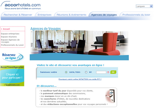 Accor Hospitality lance ''Accor Hotels Travel Agencies Box''