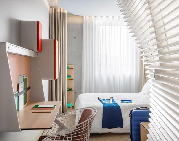 La chambre de l'hôtel Okko à Bayonne - Photo Okko Hotels