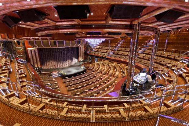 Le grand théâtre Costa réunit luxe, confort et high tech.