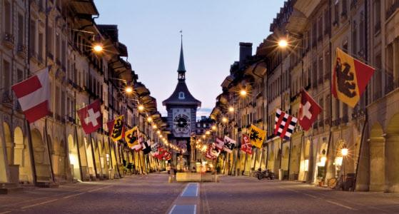 La vieille ville de Berne. Le Tour de France y aura sa journée de repos le 19 juillet prochain. Crédit Switzerland Tourism.