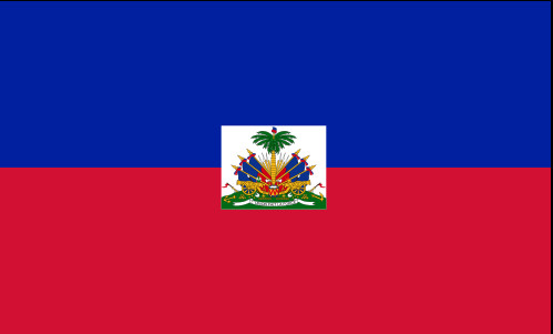 Drapeau d'Haïti - DR : Wikipedia