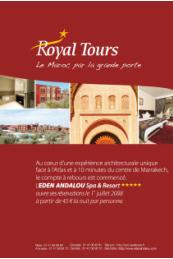 Royal Tours s'affiche dans les agences Havas