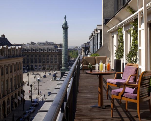 L'établissement le moins cher sur la période étudiée est le Paris Hyatt Vendôme.Les tarifs des palaces parisiens varient en fonction des périodes  - Photo : Park Hyatt Paris-Vendome