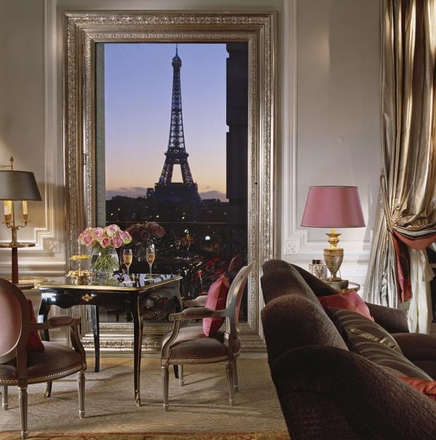 Plaza Athénée - Eiffel Suite 361 Evening  - Photo (c) de Laubier