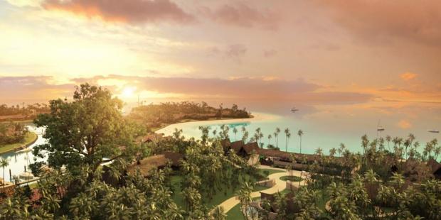 L'hôtel Six Senses Fidji sera installé sur l'île de Malolo - Photo : Six Senses