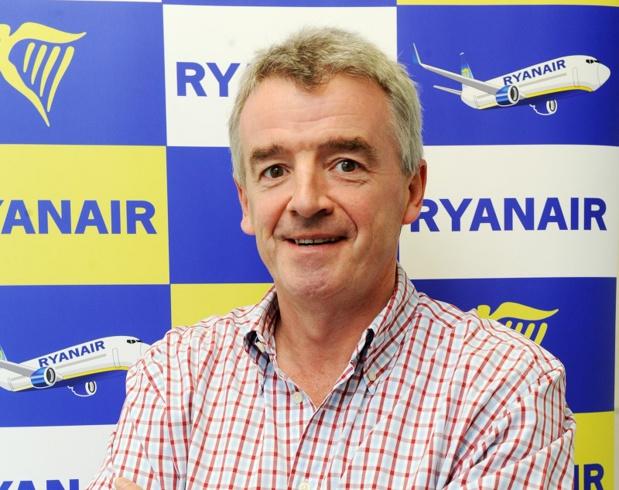 Michael O'Leary, Pdg de Ryanair est un personnage hors du commun. On aime ou on n'aime pas, mais ça fait quand même trente ans que ça dure. Photo Ryanair Media Center